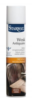 WOSK W AEROZOLU DO C. DREWNA 300ML STARWAX (43057)
